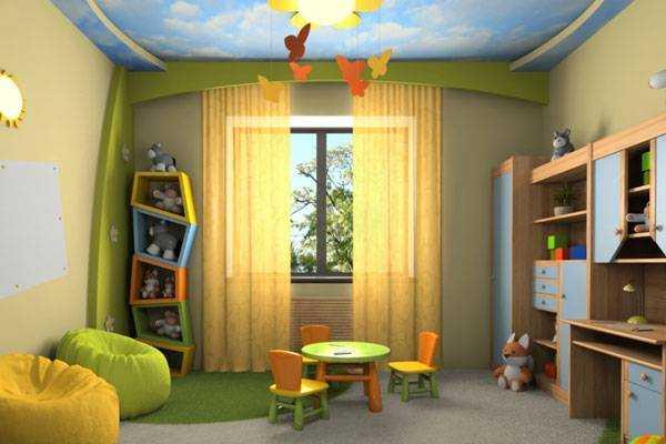 Ремонт для детской комнаты для мальчиков своими руками