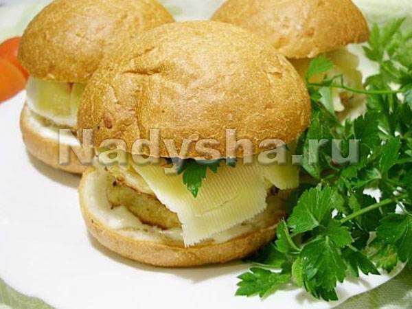 Чикенбургер в домашних условиях рецепты 60